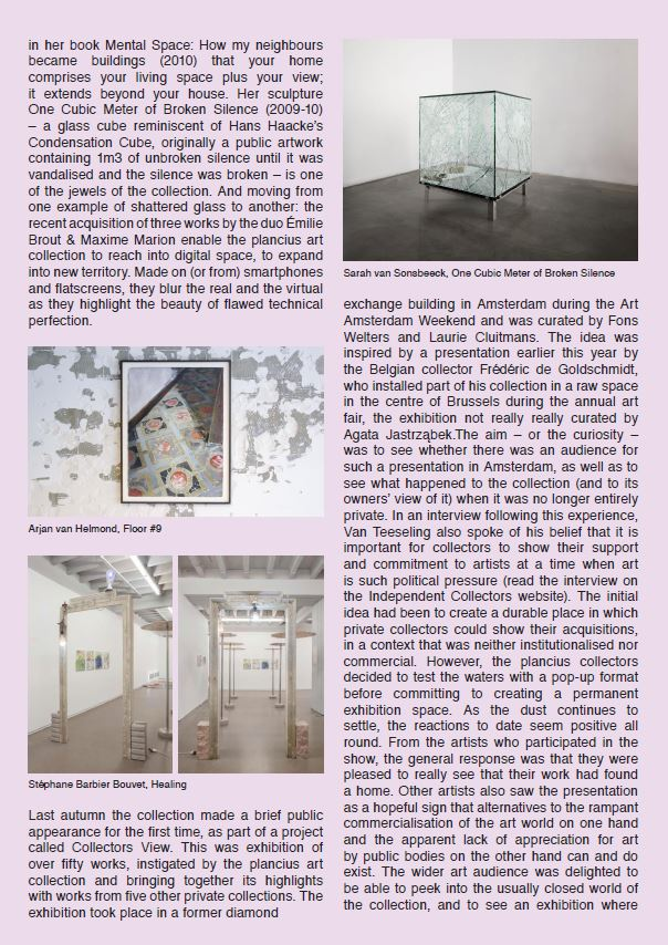 Zoe Gray on plancius art collection p4