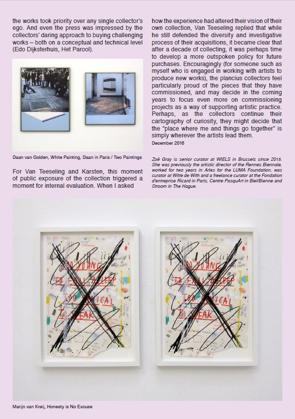 Zoe Gray on plancius art collection p5