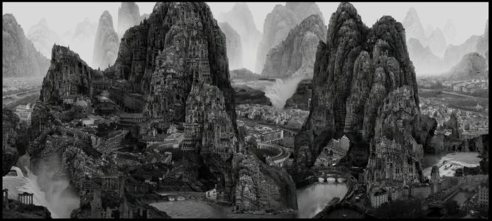 plancius art collection Yang Yong Liang Journey to the Far 2017